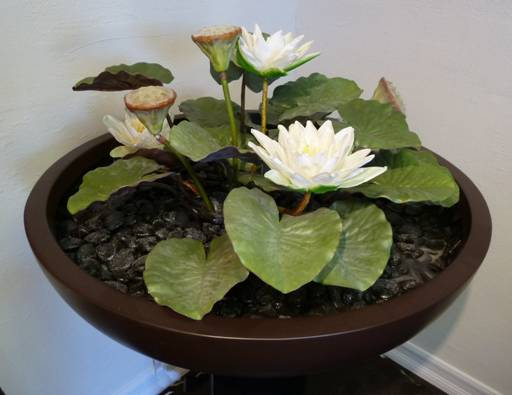 Bali collection of artificial plants