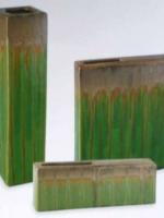 melon green (MG) UC-CBK29- (MG) 4 x 4 x 17h - 2.5x2.5open UC-CBK30- (MG) 10.5 x 2 x 12h - 4x1open UC-CBK31-(MG) 13.5 x 2 x 5h - 6x1open