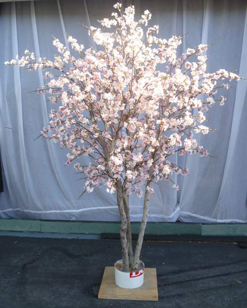 silk flower tree silk cherry blossom tree make be leaves 2221