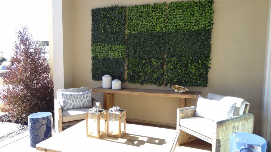 Faux Living Walls Make Be Leaves