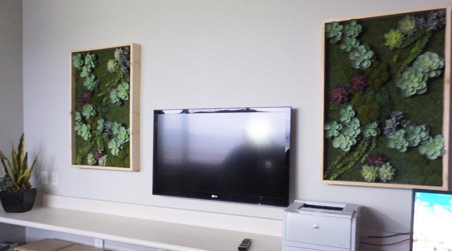 Artificial Green Wall Installation