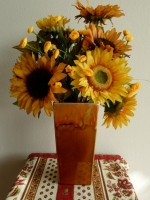 Sunflowers & Irises