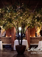 Diety supper night club, custom faux tree