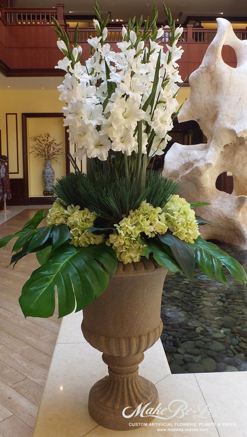 Custom Silk Floral Arrangements Artificial Flowers