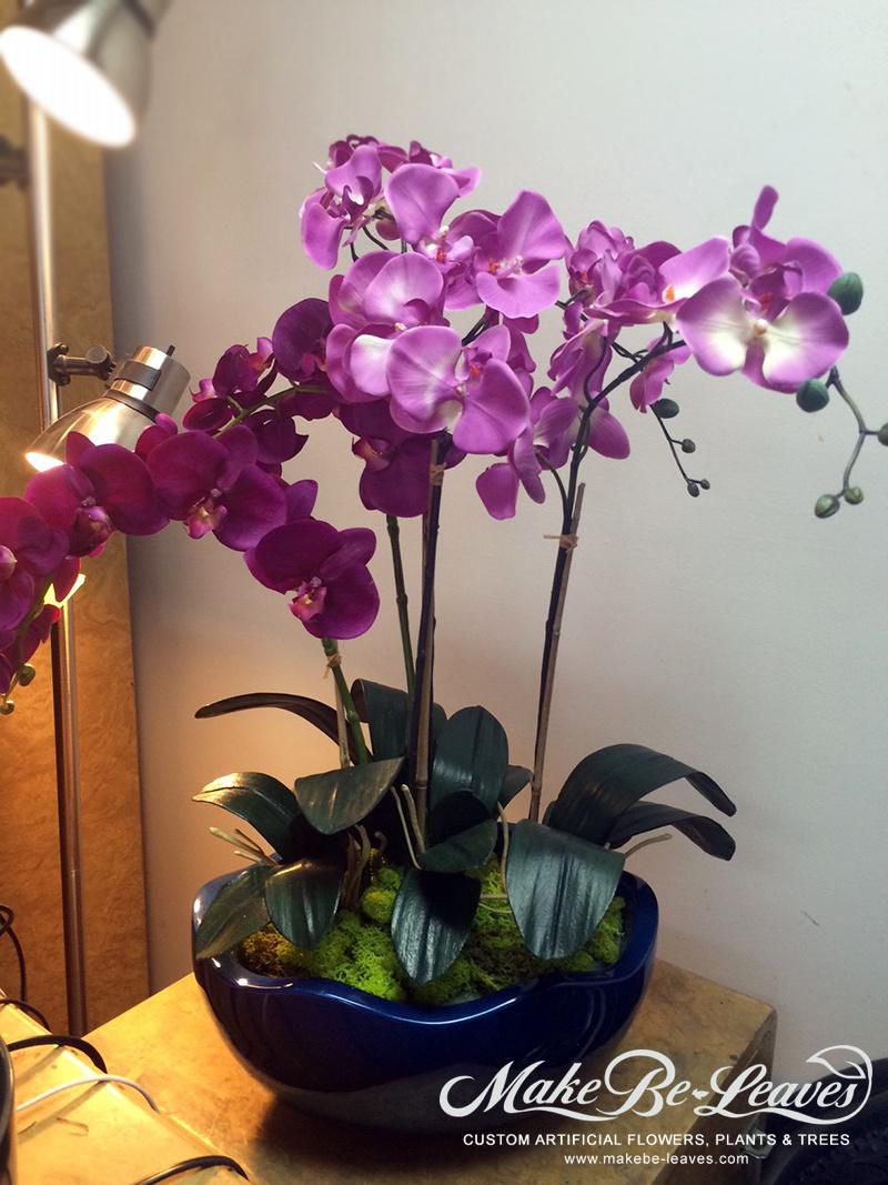Make Be-leaves silk-phaleanopsis-orchid