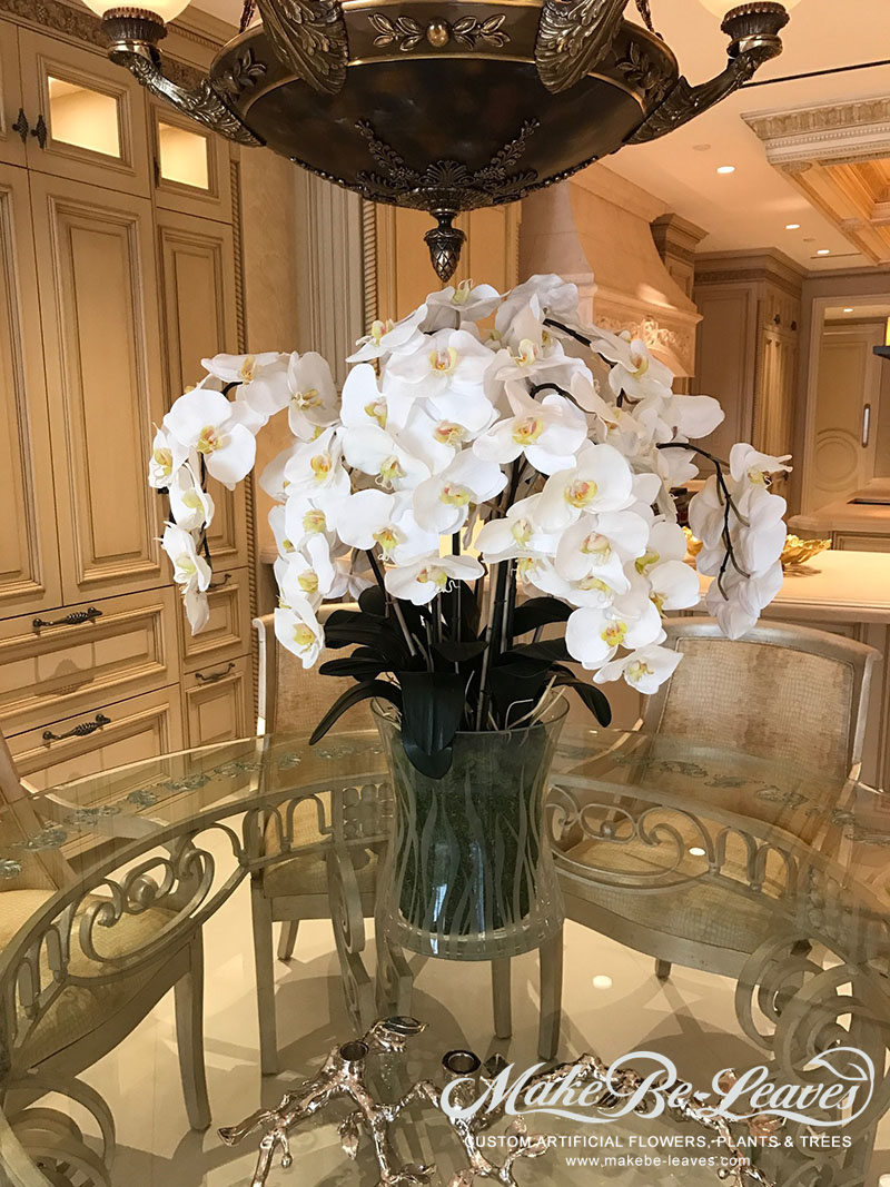 Make Be-leaves silk-white-phaleanopsis