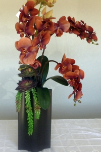 Makebe-leaves-artificial-orchids-succulents-item223