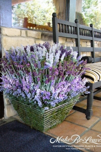 Make Be-leaves artificial-tiered-lavender