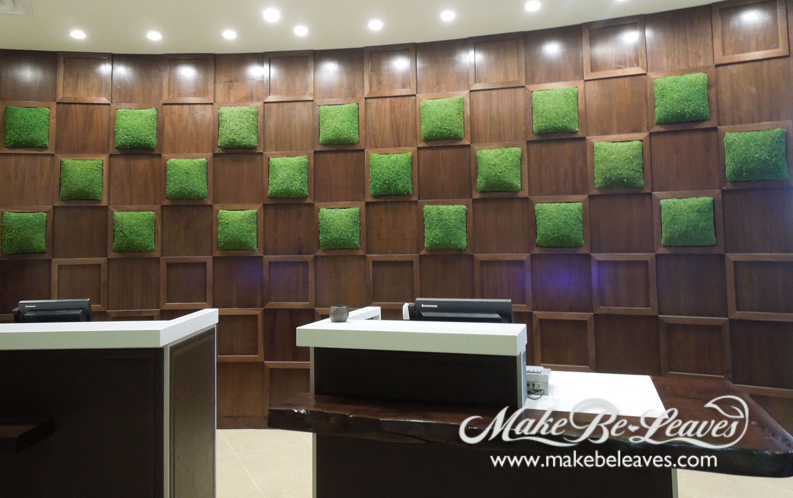 Make Be-Leaves faux-lobby-moss-squares