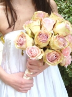 Brides Bouquet Silk Roses