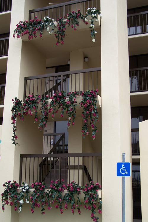 Make Be-leaves artificial Bougainvillea Holiday inn