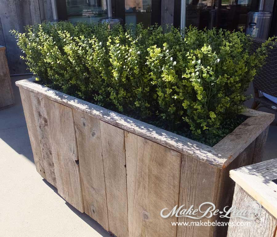 makebeleaves uv boxwood loose-hedge