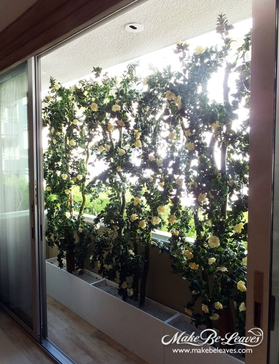 makebeleaves uv creme azalea-trellis-tree