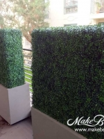 makebeleaves uv boxwood hedges