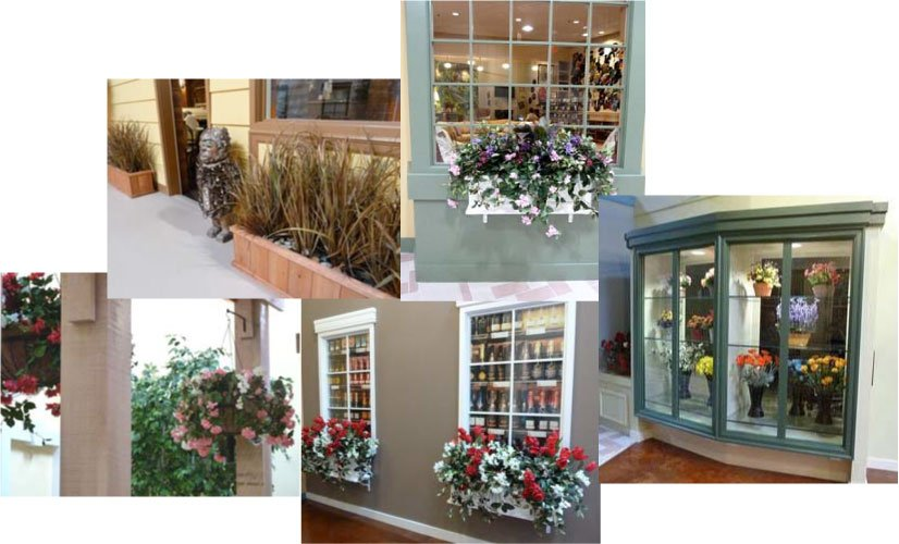 vocus offices artificial flowers & trees