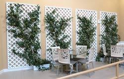 VOCUS trellis plantings