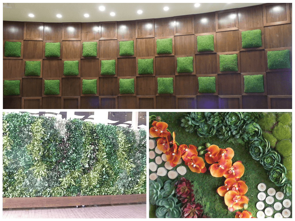 Artificial outdoor landscape architects faux plant - How to make a living wall ...
