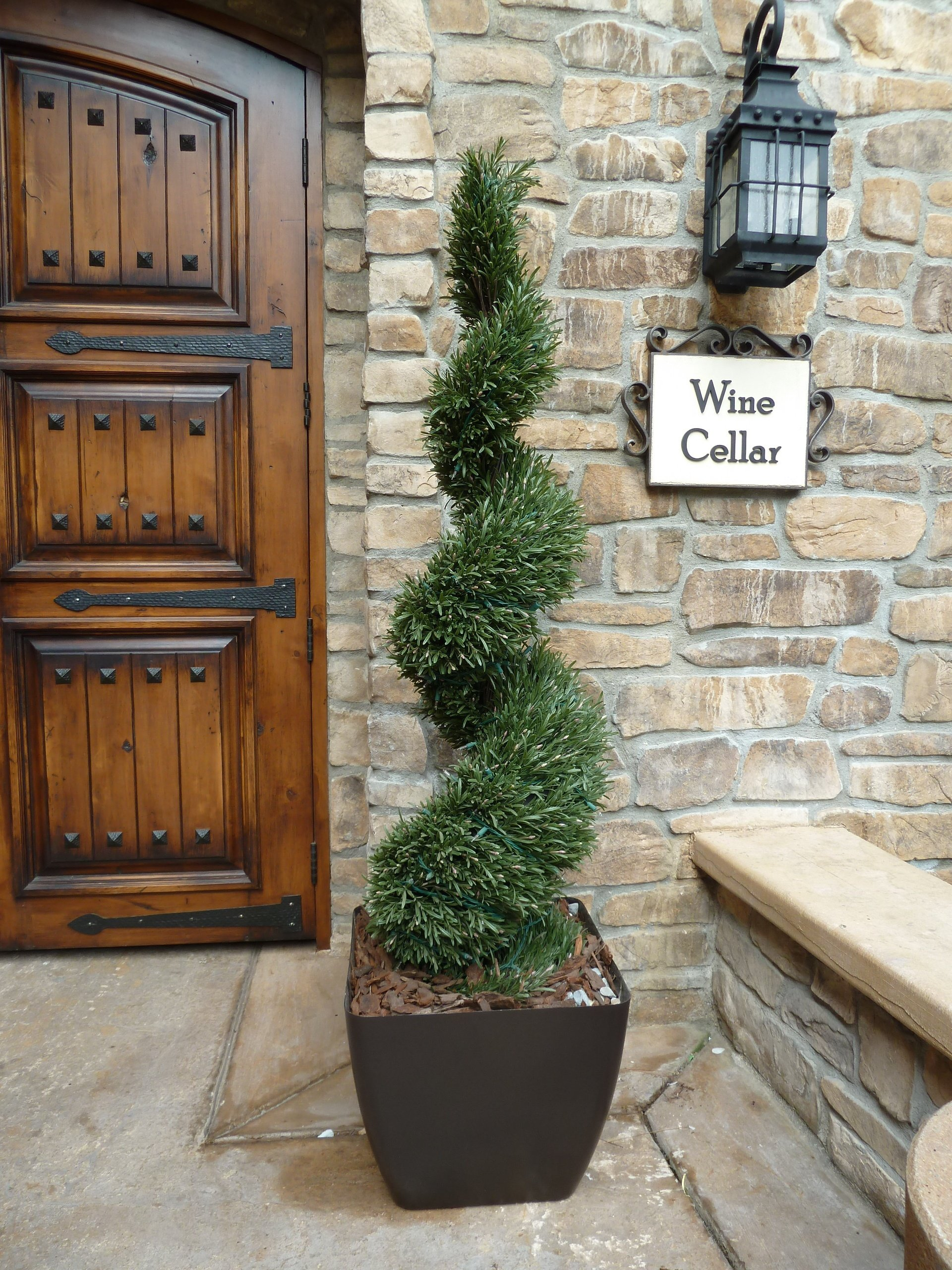 Magnificent Elegant Artificial Topiaries The Perfect Holiday Purchase Door Handles Collection Olytizonderlifede
