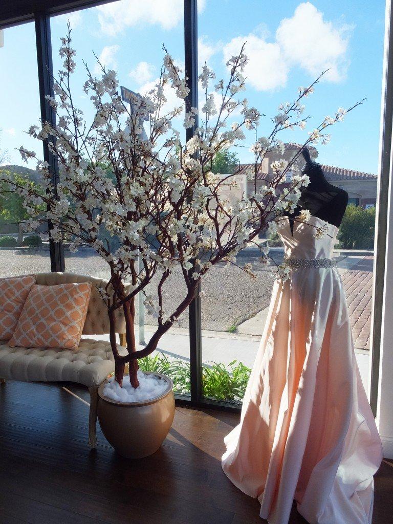 Silk Cherry Blossom Trees Make Be Leaves