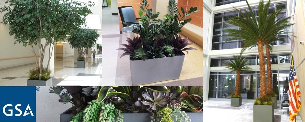 We're Here To Serve: GSA-Approved Artificial Plants, Trees and Flowers