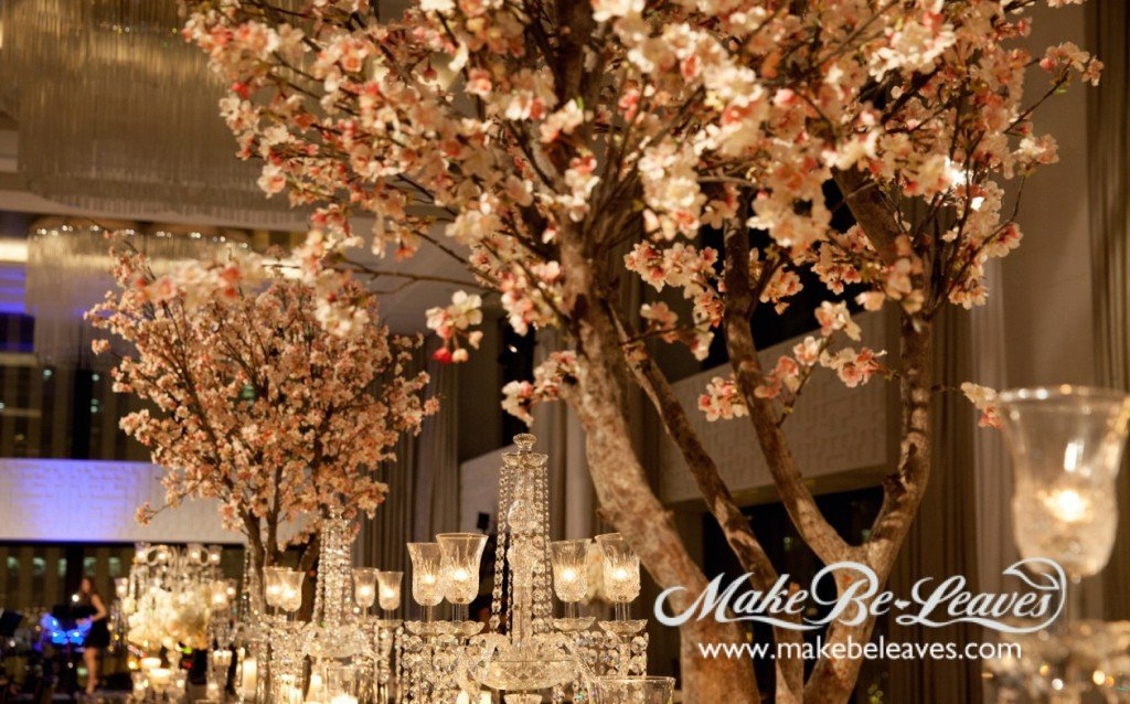 Silk Cherry Blossom Trees Tailor Made For Wedding Make