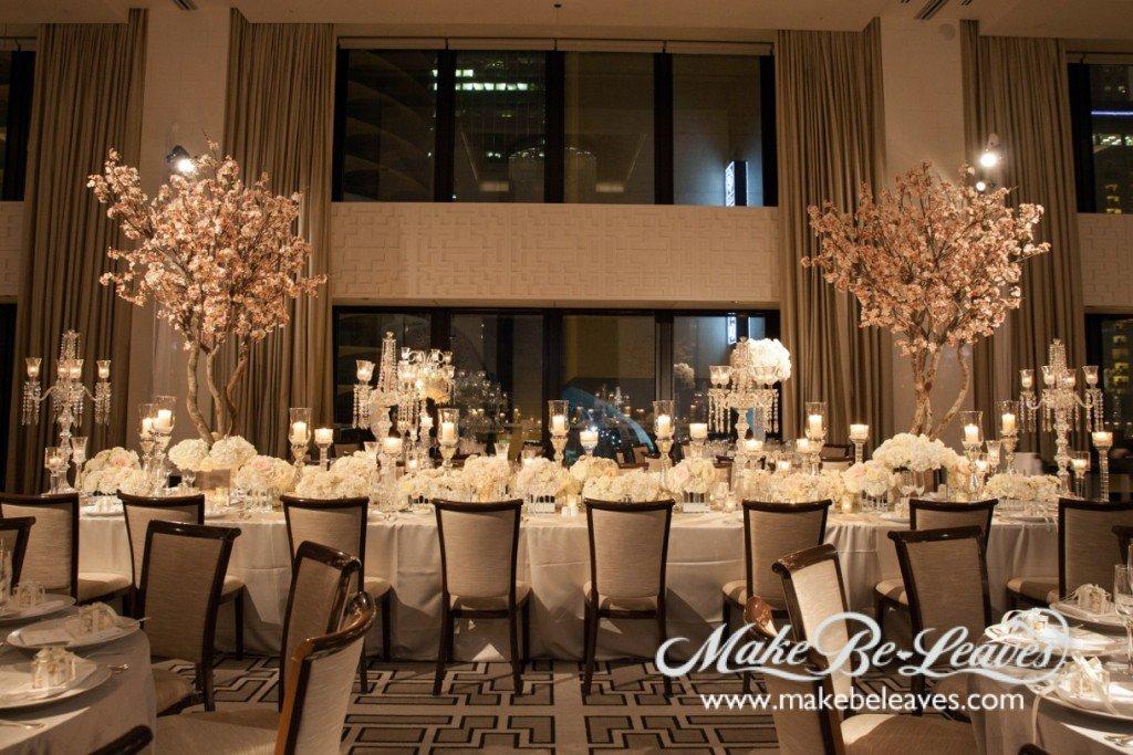 Silk Cherry Blossom Trees For Wedding