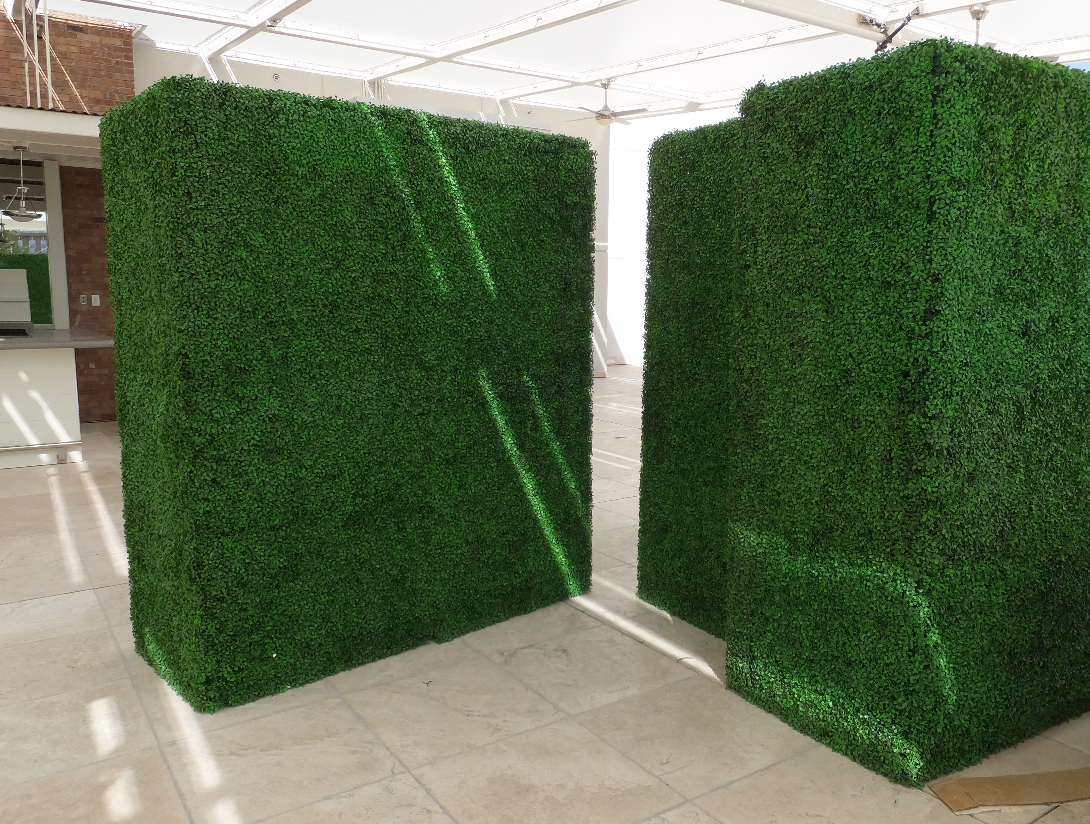 Make Be Leaves 7ft Tall Uv Boxwood Hedges Make Be Leaves
