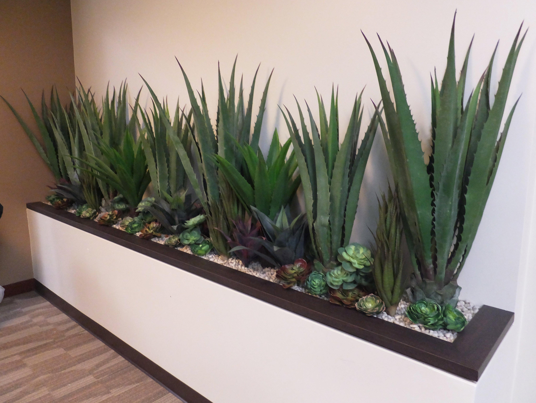 Large Artificial Succulent Plantings