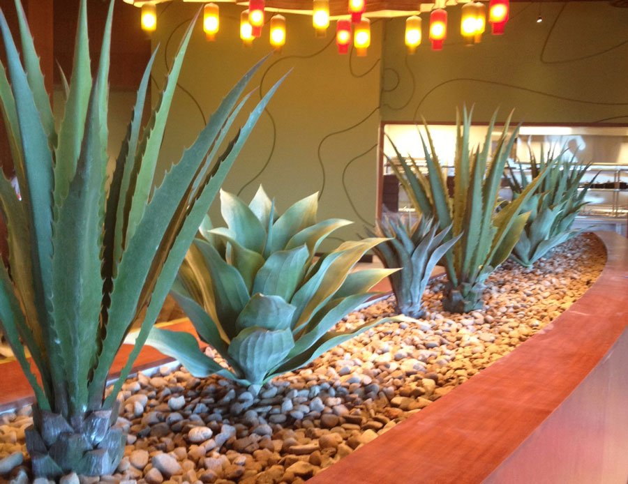 Twin Arrows casino AZ faux cactus