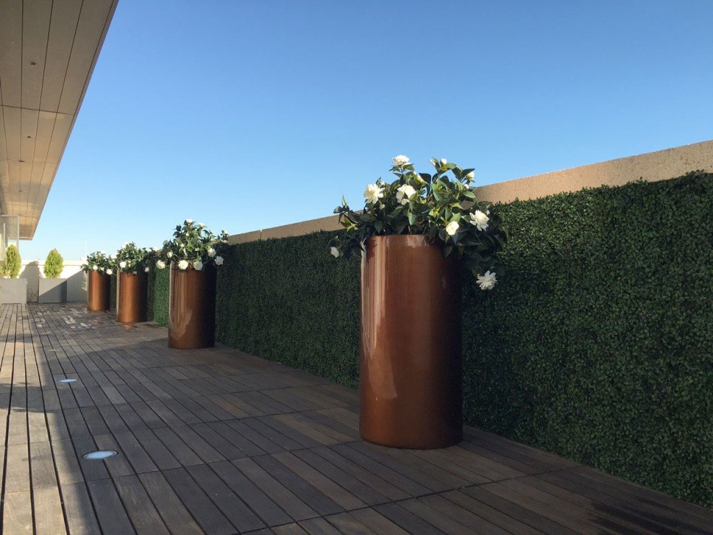 UV indoor outdoor faux living walls