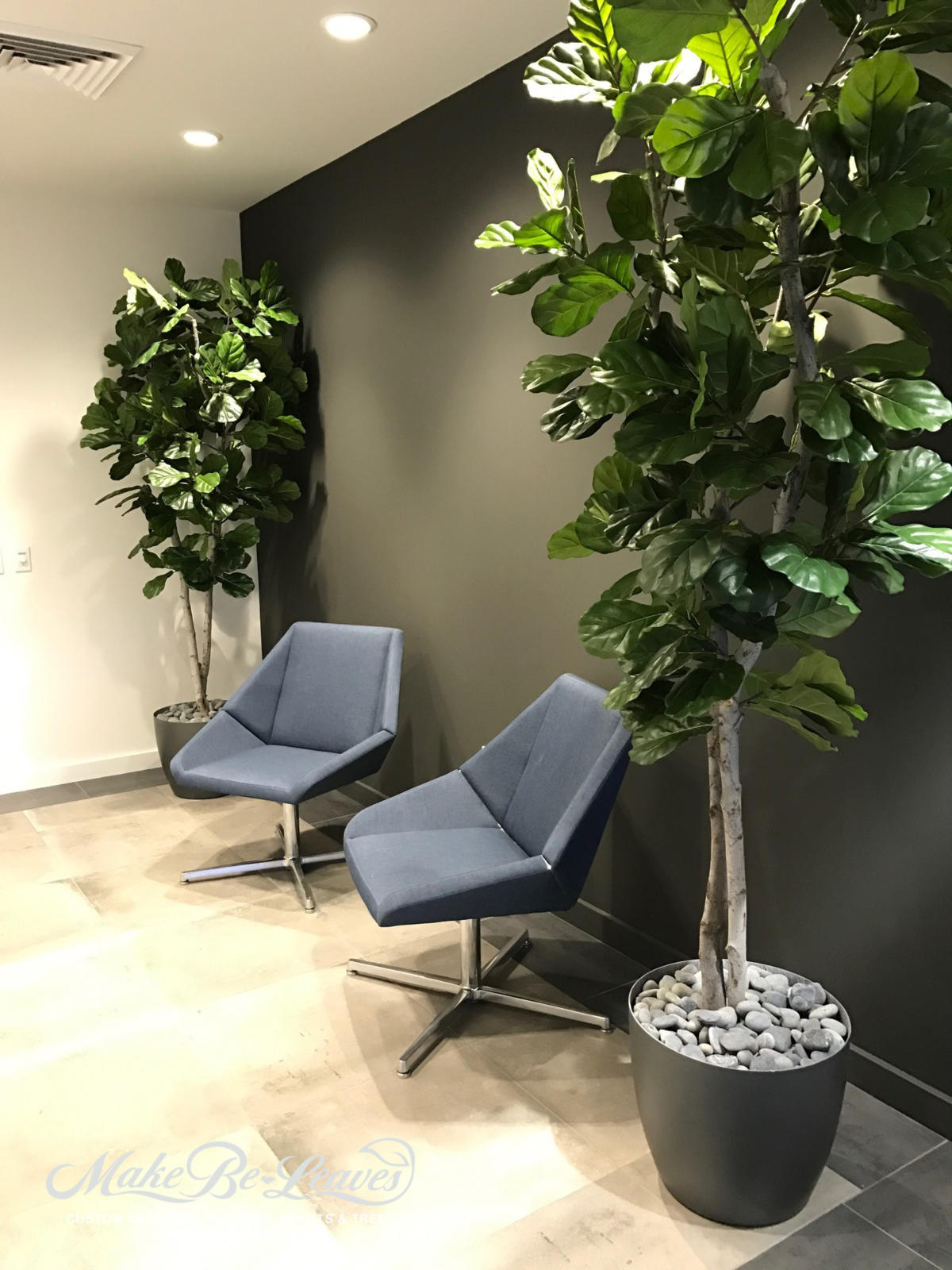 Artificial Floor Plants Amp Trees For Skechers And Wagstaff Corporate Offices Make Leaves