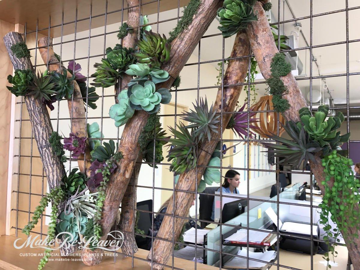 Wagstaff artificial floor plants