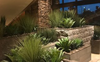 Artificial Plants, Interior Multi-story Contemporary Feature