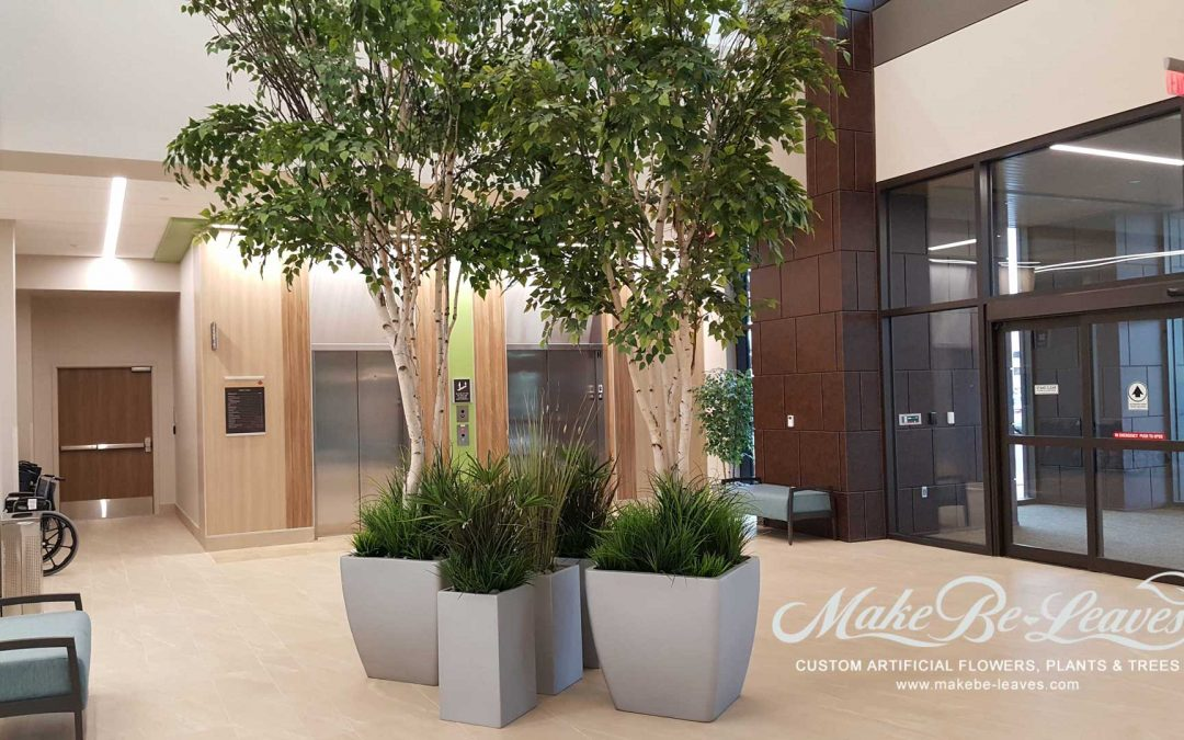 Artificial Plants Installation for Orthopedic & Specialty Hospital